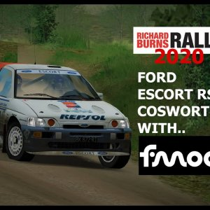 Richard Burns Rally 2020, Escort Cossie with fMOD sounds!