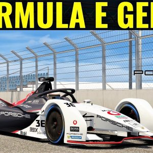 Formula E Gen 2 (Formula Lithium) | HOTLAP at The Hong Kong Street Circuit | Assetto Corsa | 4K