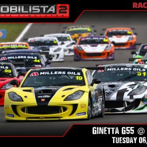 AMS 2 | Ginetta G55 Supercup @ Donington - Tuesday 06/10/20