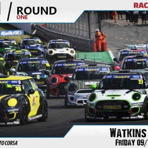 RD Mini Challenge | Round 1 @ Watkins Glen - Friday 09/10/20