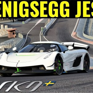 Koenigsegg Jesko | First Laps Driven in Anger Around Spa | Assetto Corsa | 4K