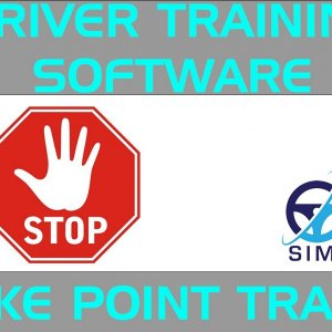 Brake Point Trainer Software for Racing Driver Development