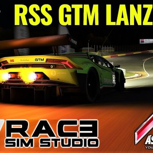 RSS GTM LANZO V10 | First Drive at Night around Spa | Assetto Corsa (Sol)