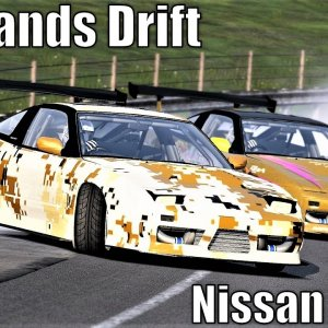 Nissan 180sx | Highlands Drift | Assetto Corsa (SDC Mod Download)