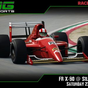 R3E Racing Club | FR X-90 @ Silverstone - Saturday 23/01/21