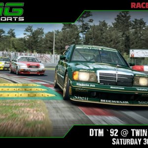 R3E Racing Club | DTM `92 @ Twin Ring Motegi - Saturday 30/01/21