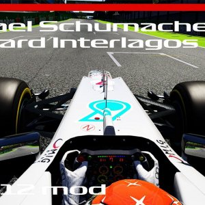 Assetto Corsa F1 2012 - Michael Schumacher Onboard Interlagos