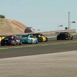 R3E • Porsche 911 GT3 Cup @ Motorland Aragon/ESP • Multiplayer Highlights