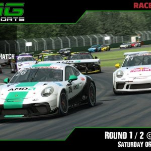 R3E Racing Club | Porsche 911 Series R1 / R2 @ Zhuhai - Saturday 06/02/21
