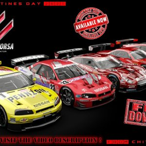 Assetto Corsa * Chivas Autoart GT500 Mod Package [free download]