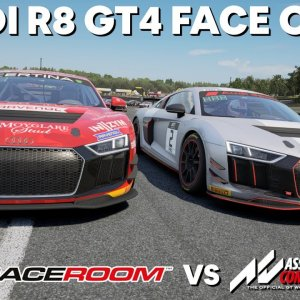 The ultimate Audi R8 GT4 battle between RaceRoom and Assetto Corsa Competizione