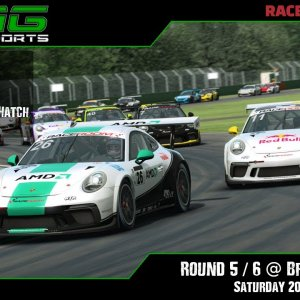 R3E Racing Club | Porsche 911 Series R3 / R4 @ Brands Hatch - Saturday 20/02/21