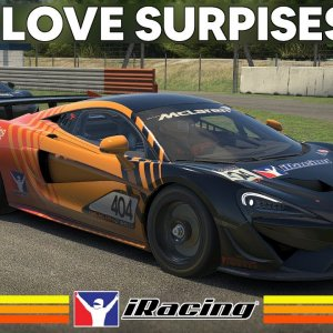 IRACING : Enjoying the McLaren 570s GT4