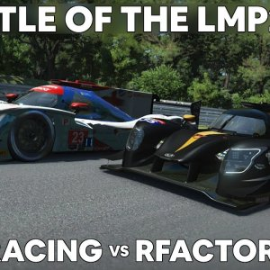 LMP2 Battle : IRACING vs RFACTOR 2
