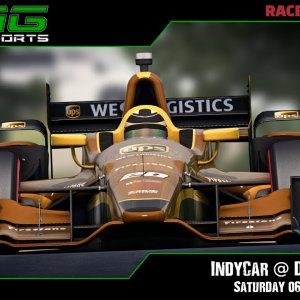 R3E Racing Club | IndyCar @ Daytona - Saturday 06/03/21