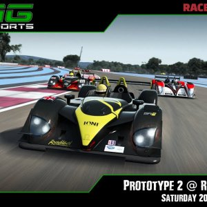 R3E Racing Club | Prototype 2 @ Red Bull Ring - Saturday 20/03/21