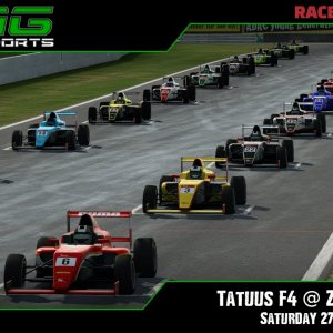 R3E Racing Club | Tatuus F4 @ Zandvoort - Saturday 27/03/21