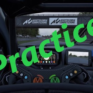 ACC - Practice - Monza - AMR V8 Vantage Gt.3 - Current Personal Best Time
