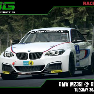 R3E Racing Club | BMW M235i @ Bilster Berg - Tuesday 30/03/21