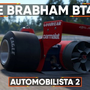 AUTOMOBILISTA 2 VR : A quick lap in the Brabham BT46B Fan car at the historic Hockenheim
