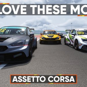ASSETTO CORSA : We check out the mighty Cupra and Misano mods