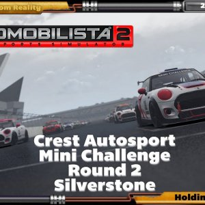 Crest Autosport AMS2 Mini Challenge Round 2, Silverstone. In HP Reverb G2 and DOF Reality H3