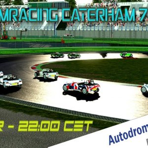 Xtre-Simracing Caterham 7 Series @ Vallelunga Club