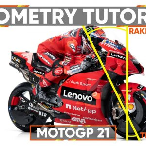 MOTOGP 21 : Understanding your bikes Geometry !