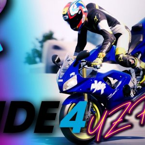 RIDE 4 - GAMEPLAY - ROAD AMERICA - 1998 YAMAHA YZF-R1