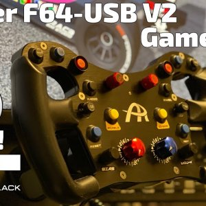 Ascher F64-USB V2 - Gameplay - GoPro