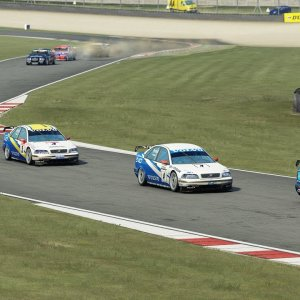 New Volvo S40 BTCC mod is top notch!
